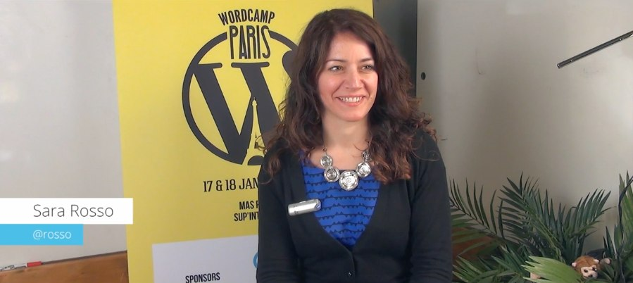 Interview mit Sara Rosso @ WordCamp Paris 2014 8