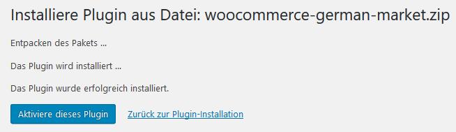 Anleitung: German Market für WooCommerce installieren - Onlineshop besser vor Abmahnung schützen 2