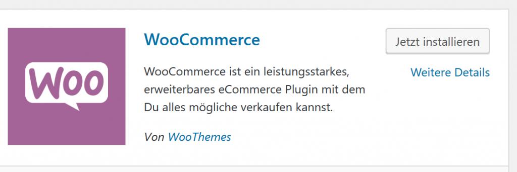 WooCommerce installieren - in fünf Minuten zum Onlineshop auf WordPress-Basis 2