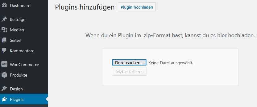 Anleitung: German Market für WooCommerce installieren - Onlineshop besser vor Abmahnung schützen 1