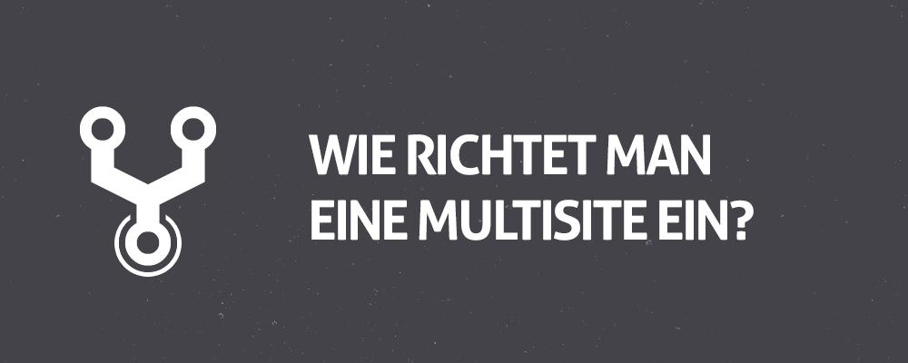 WordPress Multisite Installation: In wenigen Schritten zum Blog-Netzwerk 1