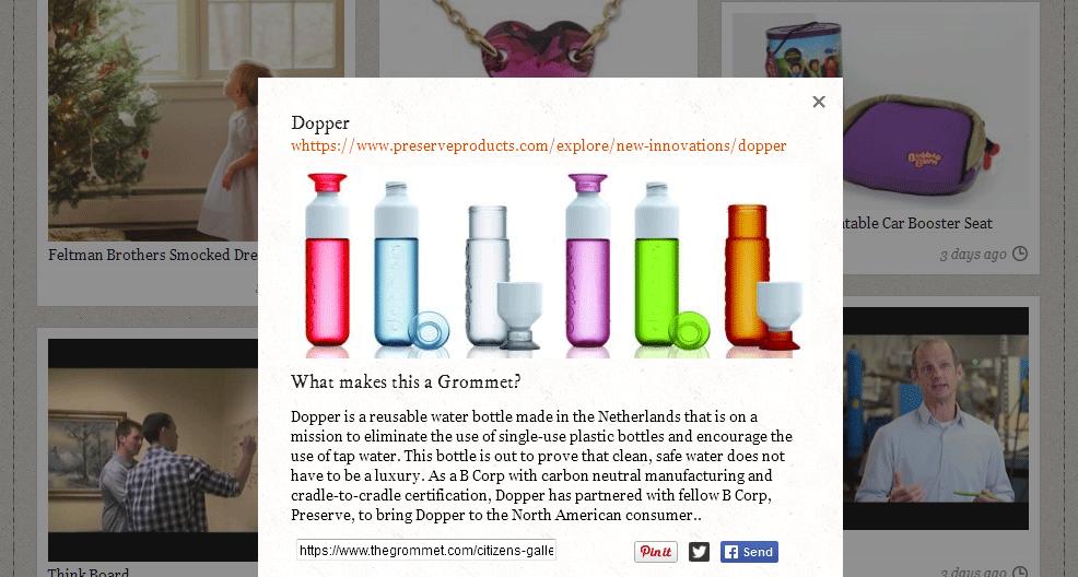 In einer Bildergalerie werden die besten Produkte und Ideen vorgestellt.