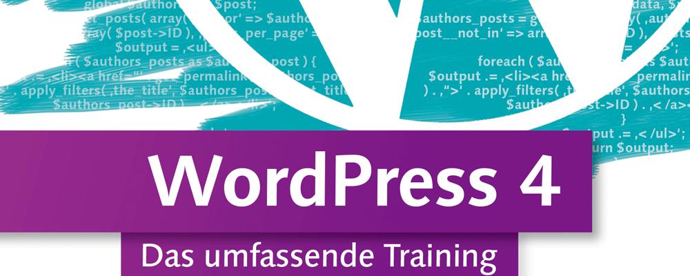 Neu: Videotraining zu WordPress 4 [Gewinnspiel] 1