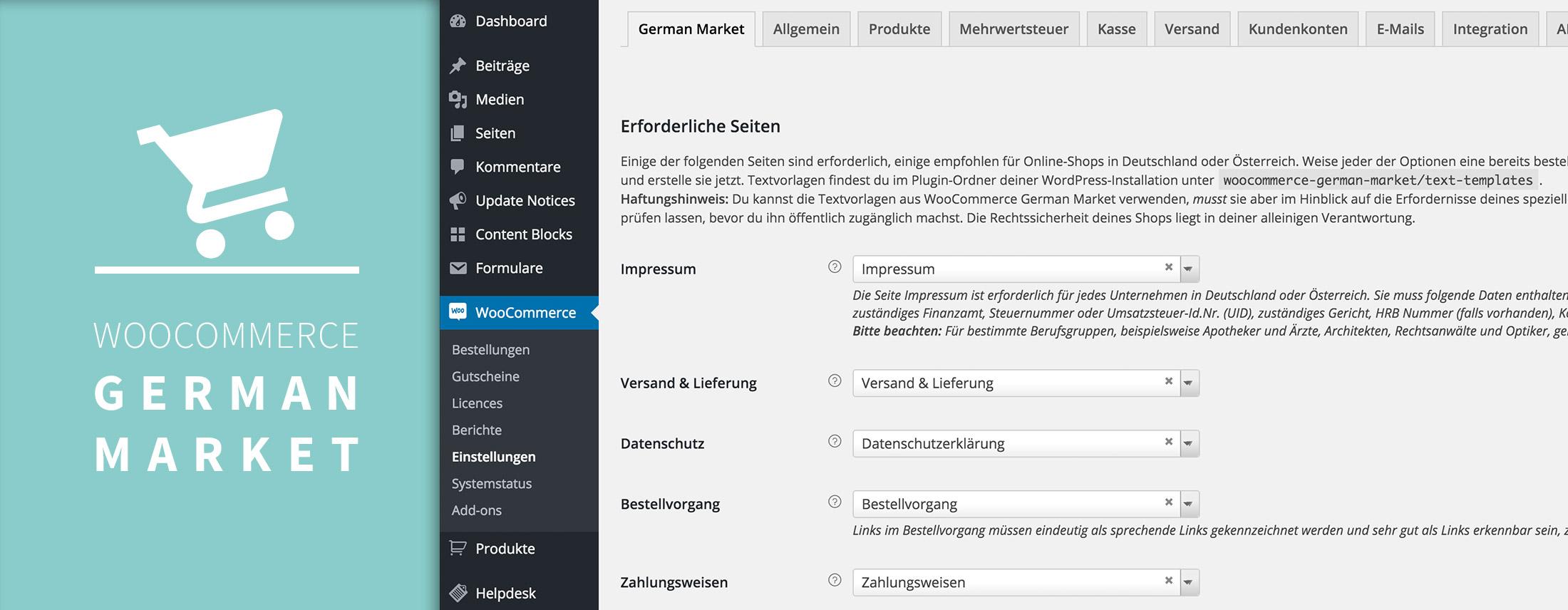 Das neue WooCommerce German Market ist da!