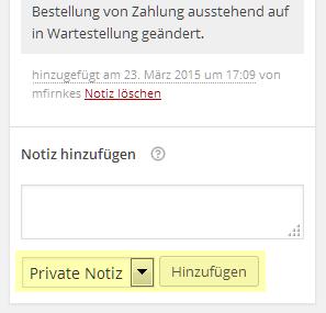 private-notiz
