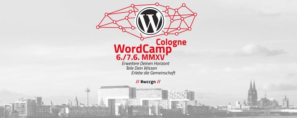 Koffer gepackt? WordCamp in Köln - Nicht mehr lange hin #wccgn 1