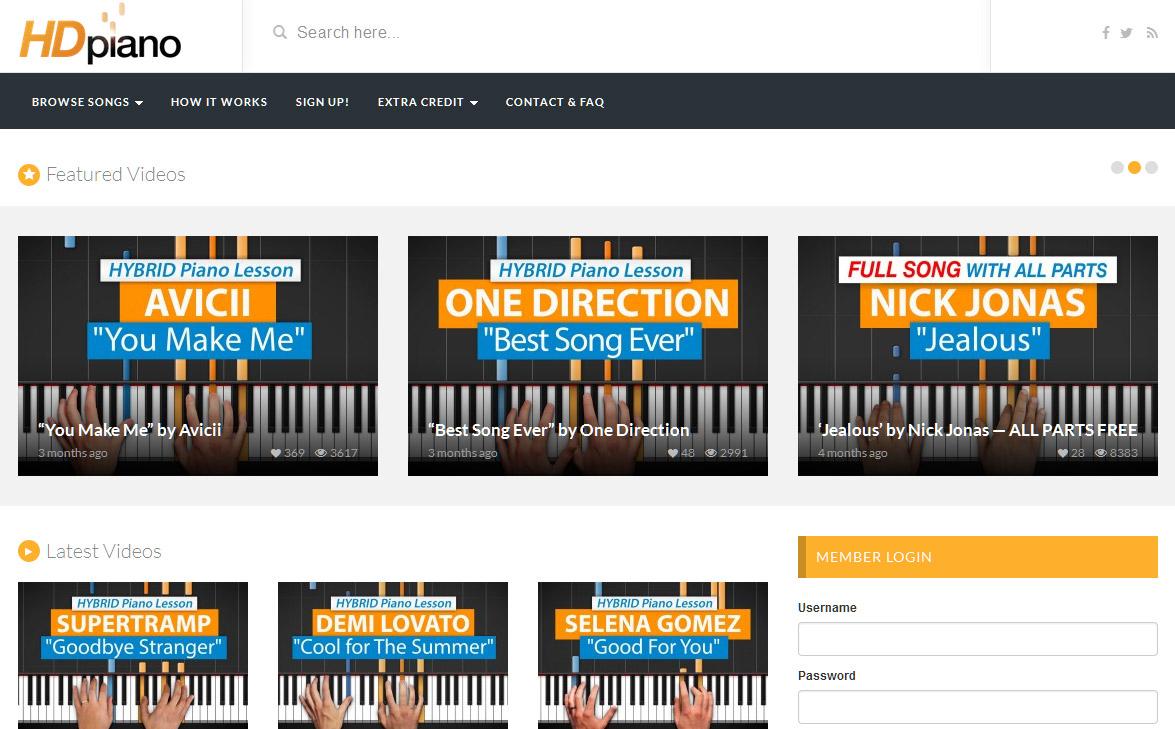 Der Online- Musikkurs von HDPiano.com