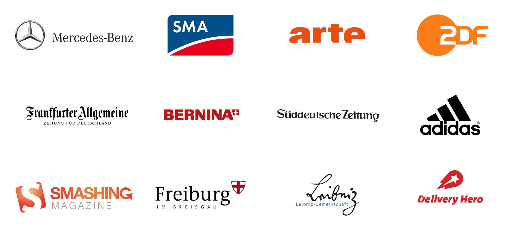 Spannende Projekte: Eine Auswahl unserer Kunden