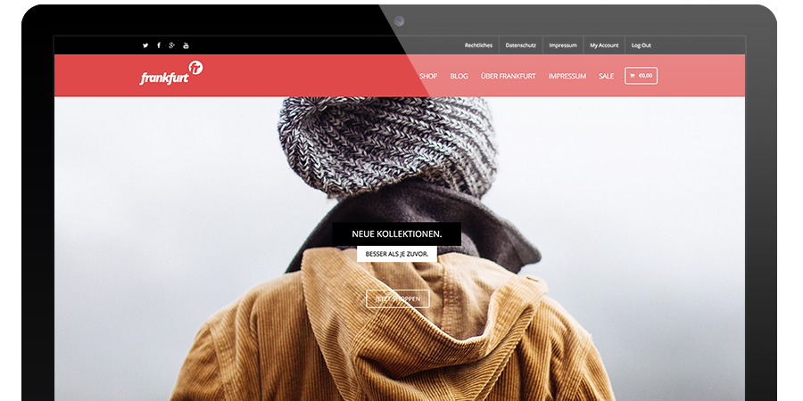 WordPress Theme Frankfurt