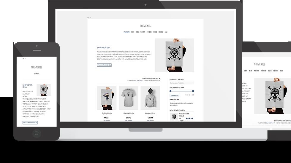 WordPress Theme Kiel