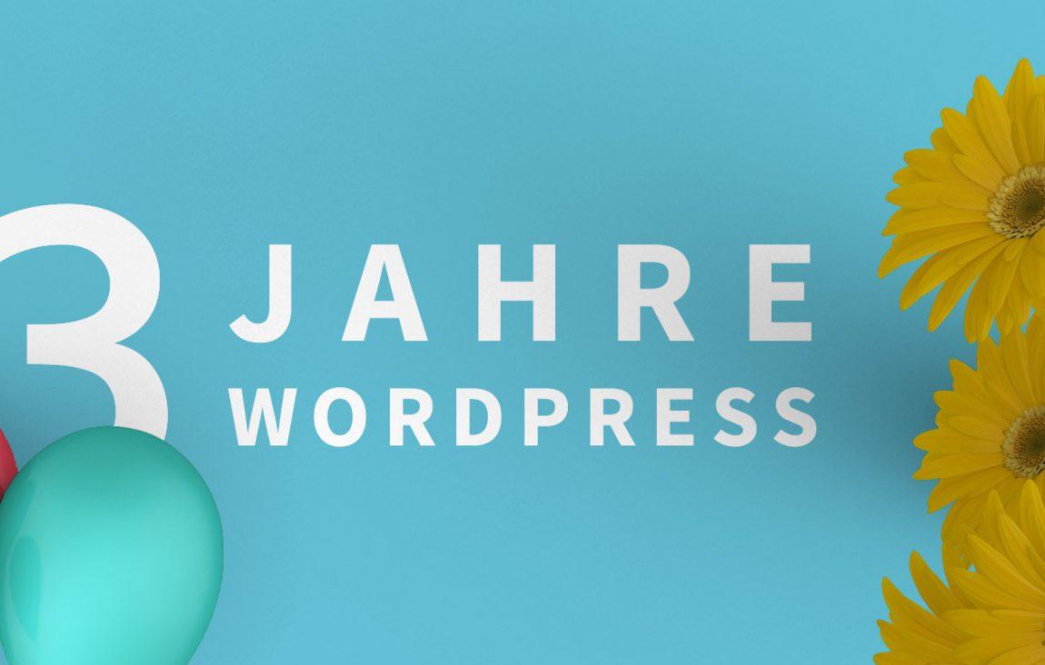 13 Jahre WordPress - 13 Mal ein WooCommerce- oder Blog-Theme gewinnen 5