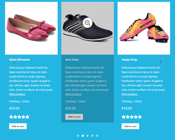 Ein Plugin aus dem Test: Der Woocommerce Products Slider (Bild © PickPlugins)
