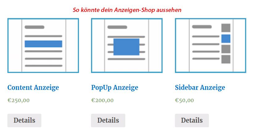 Vollautomatischer Verkauf von Anzeigen