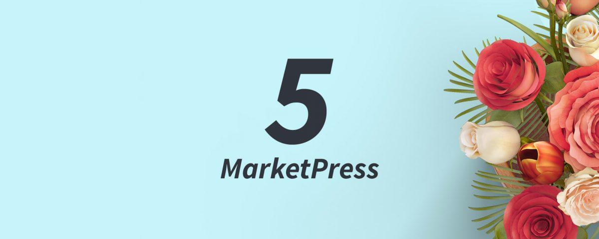 5 Jahre MarketPress - und du kannst mitfeiern! 8