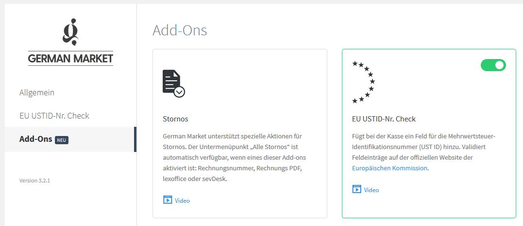 Anleitung: Überprüfung der Umsatzsteuer-ID mit WooCommerce und German Market 2