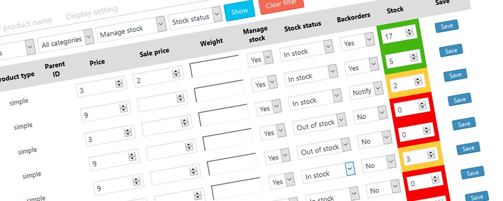 Plugins angetestet: WooCommerce Stock Manager - Lagerbestand übersichtlich verwalten 1