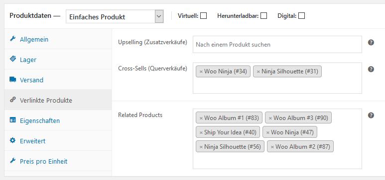 WooCommerce Plugins angetestet: Custom Related Products - Ähnliche Produkte selbst auswählen 3