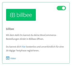 billbee woocommerce plugin