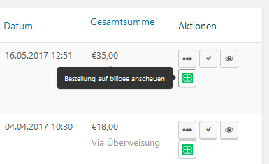 German Market 3.3: Lastschrift für WooCommerce und Anbindung an Billbee 3