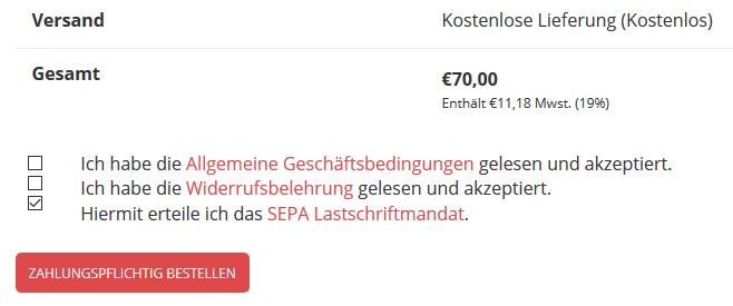 Anleitung: SEPA Lastschrift und Bankeinzug mit WooCommerce einrichten 8