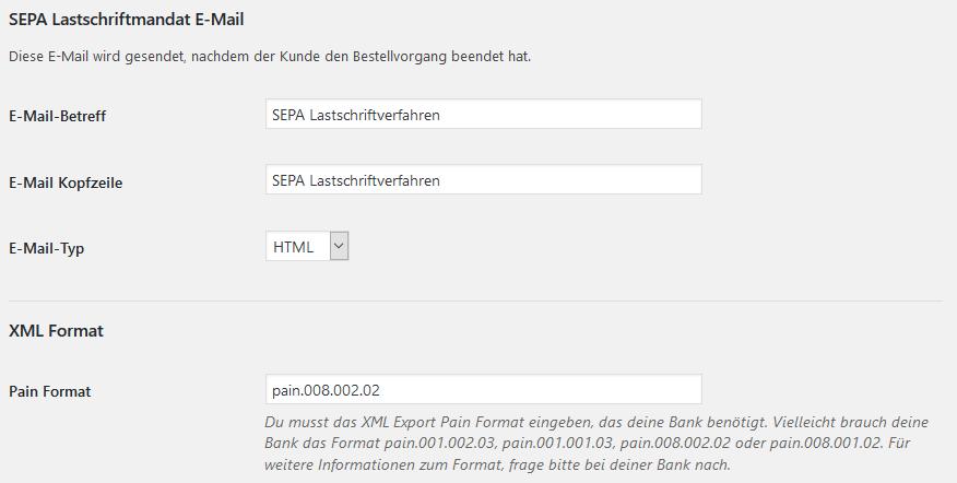 Anleitung: SEPA Lastschrift und Bankeinzug mit WooCommerce einrichten 6