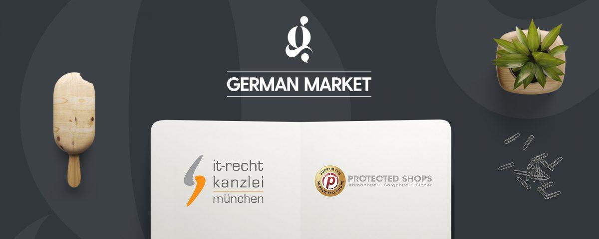 German Market 3.4: WooCommerce Schnittstellen zu IT-Recht Kanzlei und Protected Shops 2