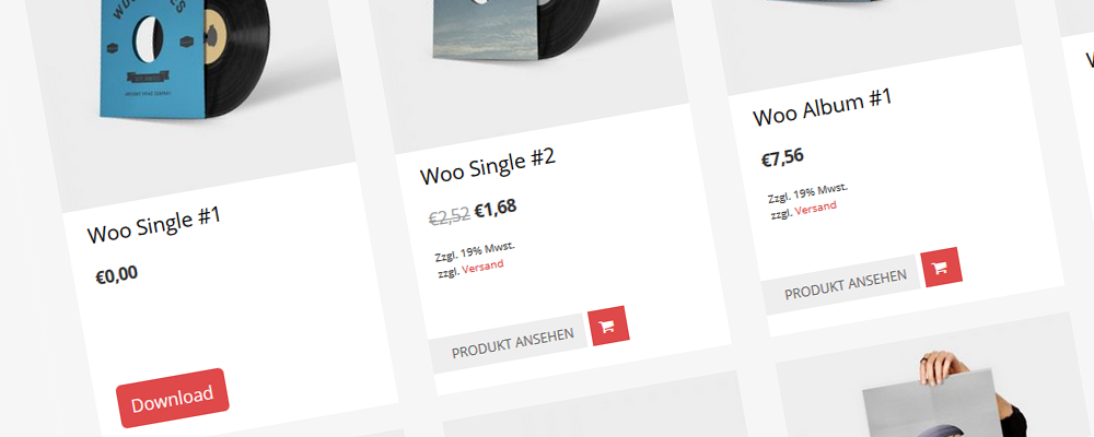 download button woocommerce