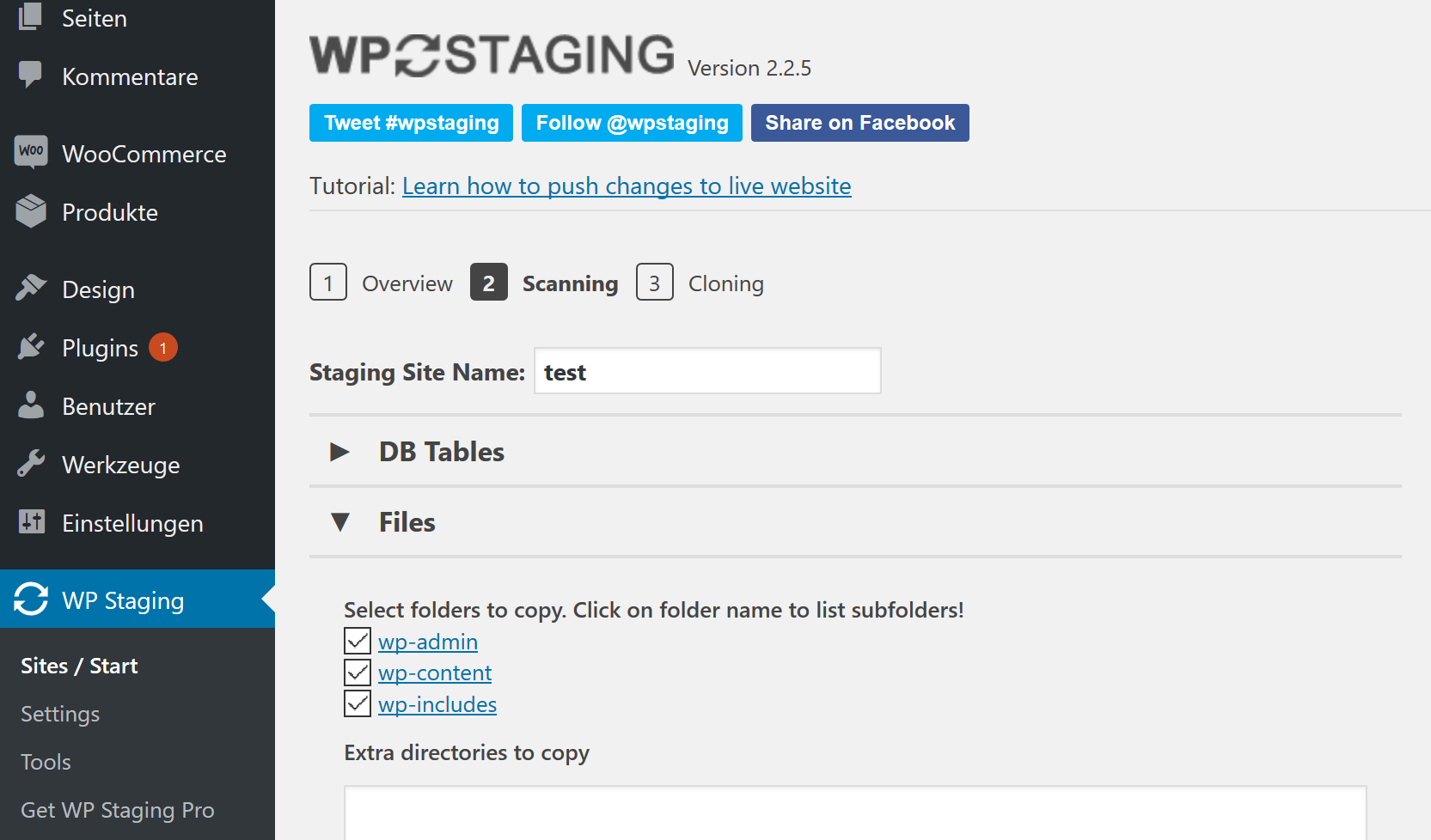 WooCommerce Staging