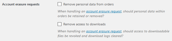 Kundendaten löschen