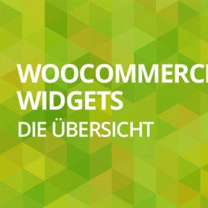widgets für woocommerce