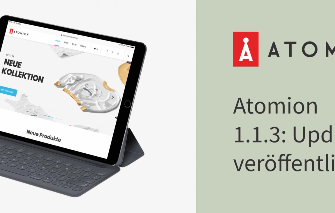Atomion 1.1.3: Update veröffentlicht 27