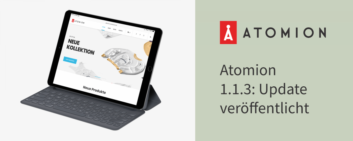 Atomion 1.1.3: Update veröffentlicht 2