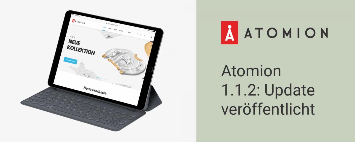 Atomion 1.1.2: Update veröffentlicht 22