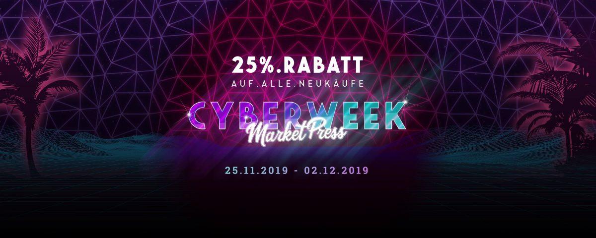 CyberWeek: 25% Rabatt und bis zu 199 € sparen 1