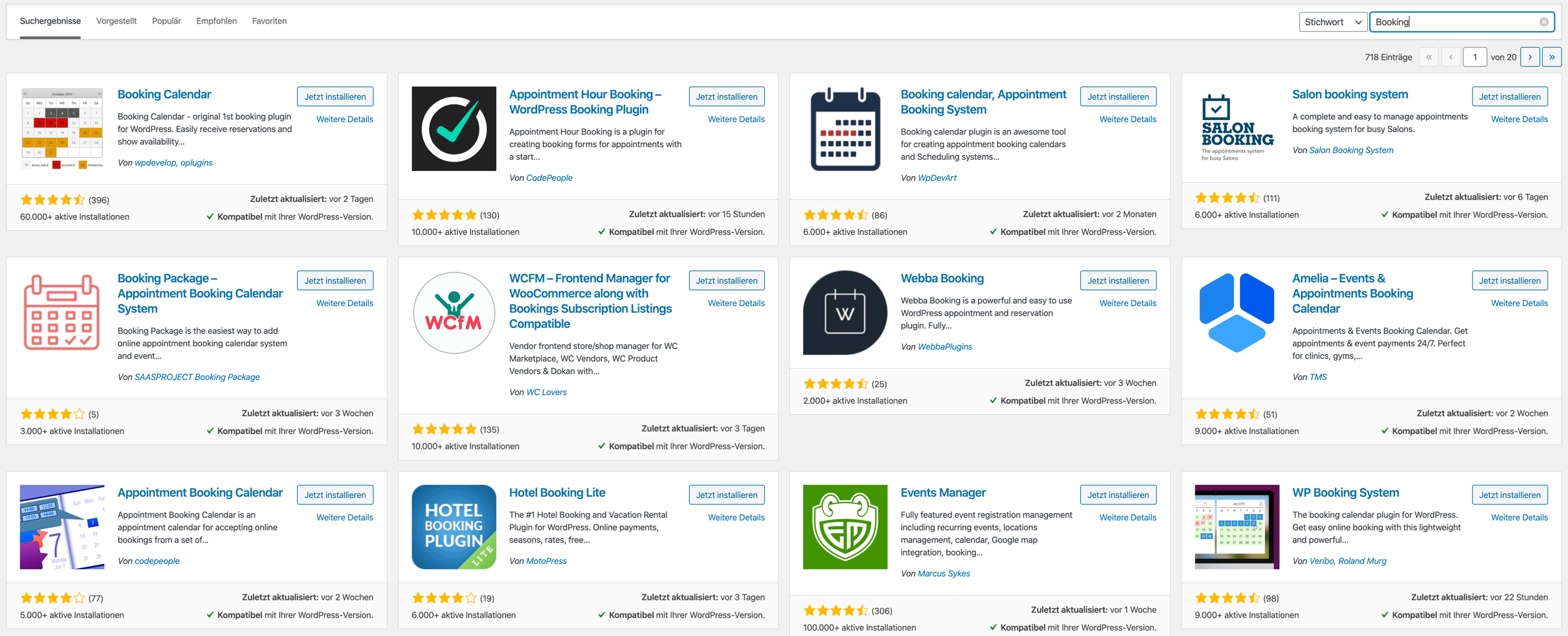 Booking Plugins WooCommerce