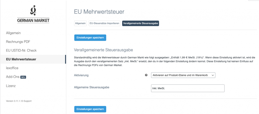 Wie du die neue Umsatzsteuerreform in WooCommerce (OSS Verfahren) mit German Market umsetzen kannst 6